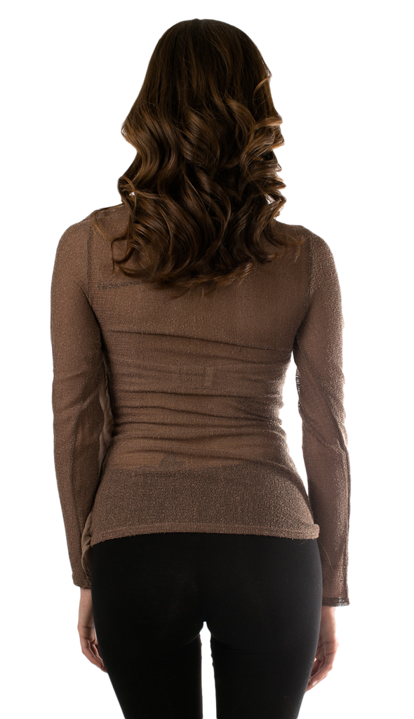 Asymmetric Long Sleeve Top - SURELYMINE