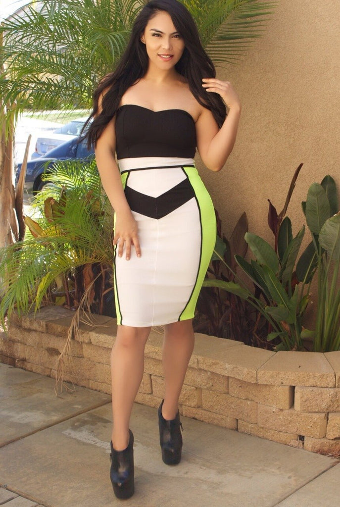 Around The Colorblock Midi - SURELYMINE