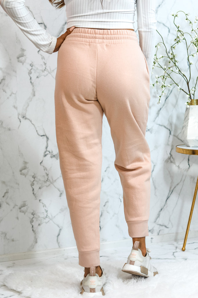Your Everyday Joggers Blush - SURELYMINE