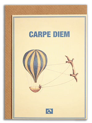 Kartka Message Earth - Carpe Diem