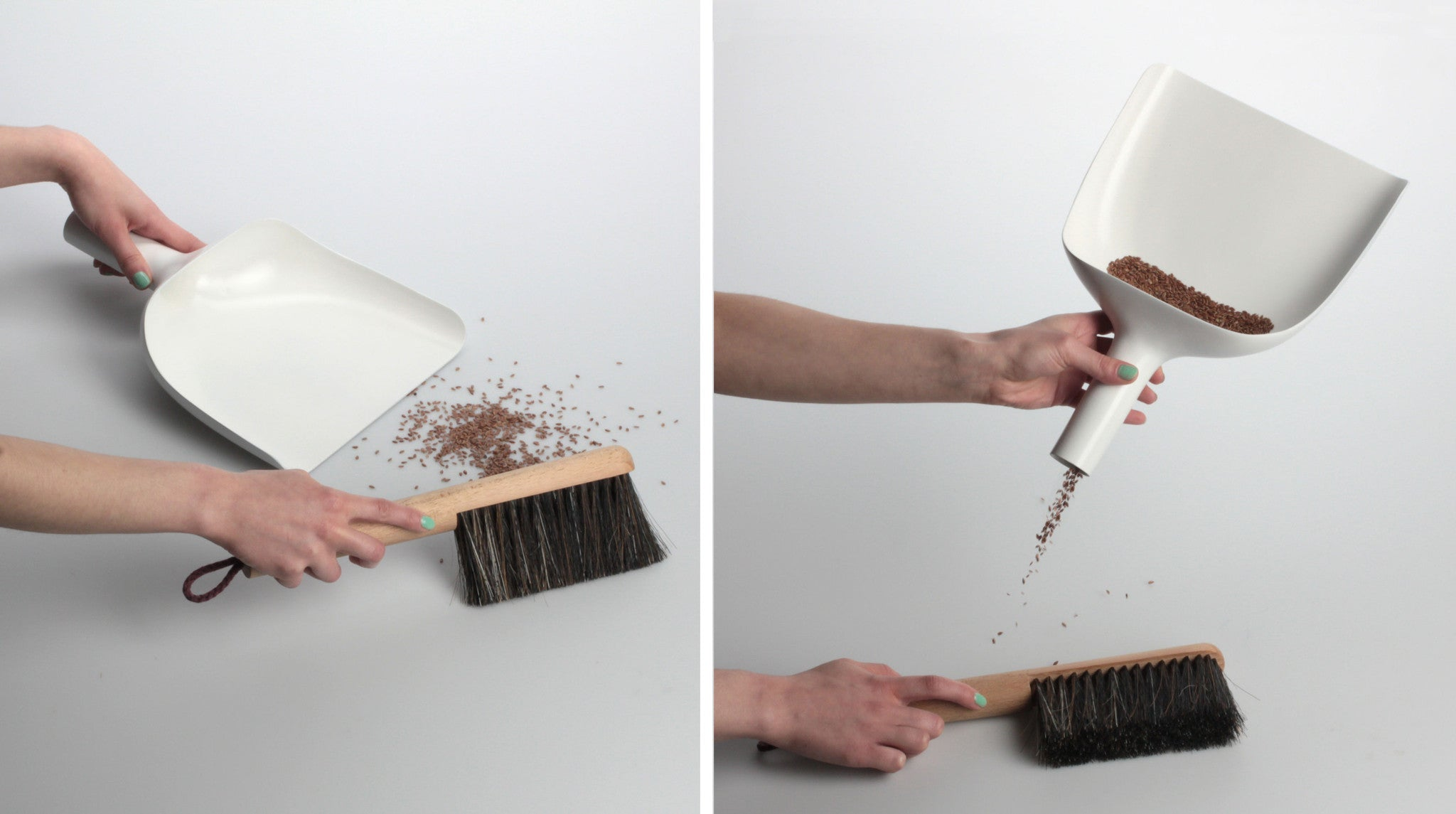 Zmiotka Jan Kochanski Sweeper & Funnel | Menu | Designzoo