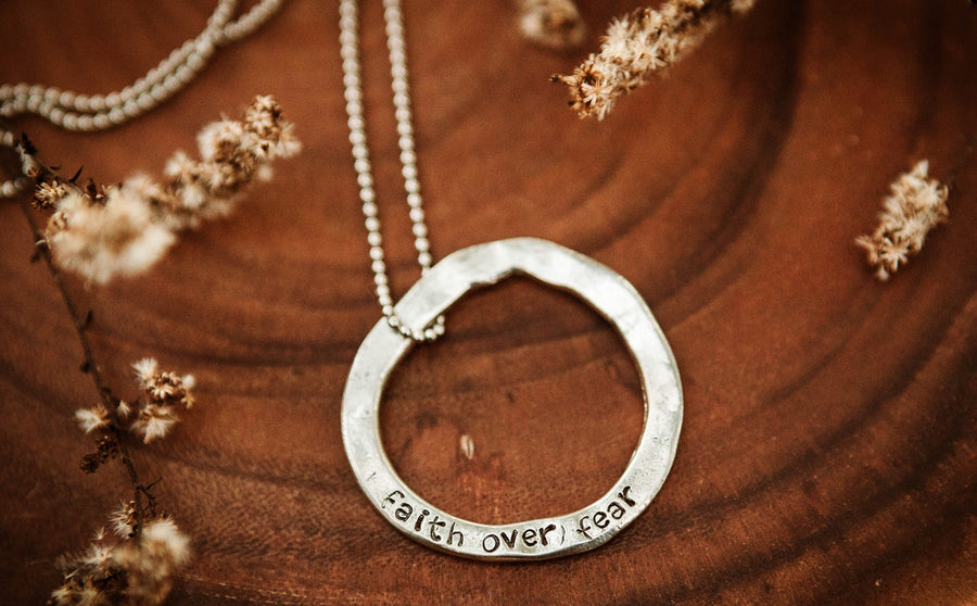 Bold Open Circle Neclace