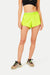 Morisot Track Shorts - Acid Yellow
