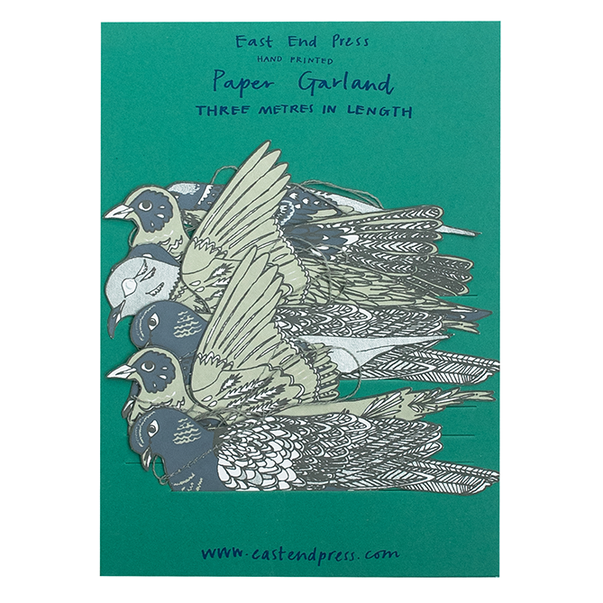Turtle Dove Garland - East End Press
