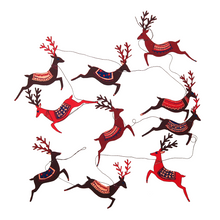 Load image into Gallery viewer, Reindeer Garland - East End Press