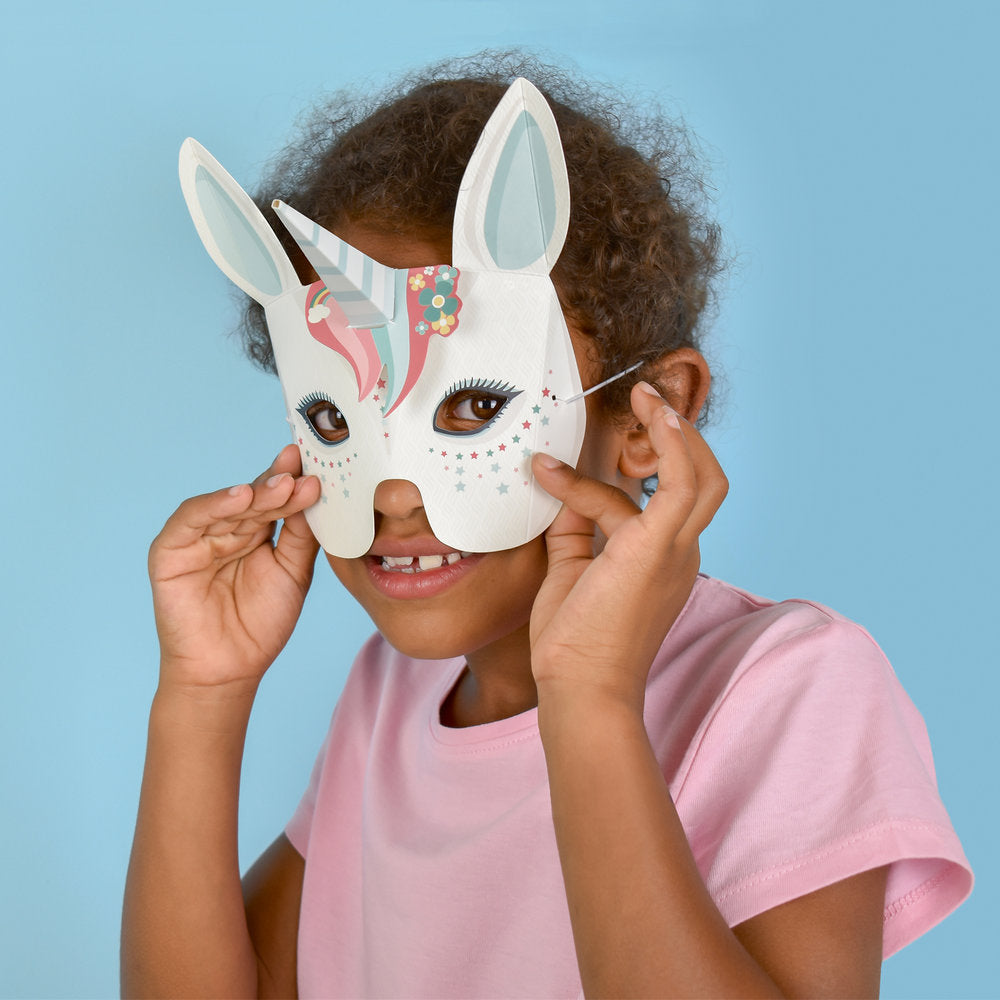 Create Your Own Unicorn Masks