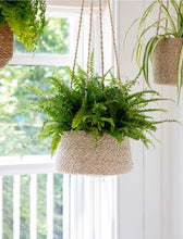 Load image into Gallery viewer, Garden Trading - Jute Tapered Hanging Basket