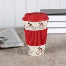 Load image into Gallery viewer, Le Bicycle Bamboo Travel Mug