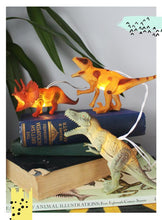 Load image into Gallery viewer, Dinosaur Natural String Lights