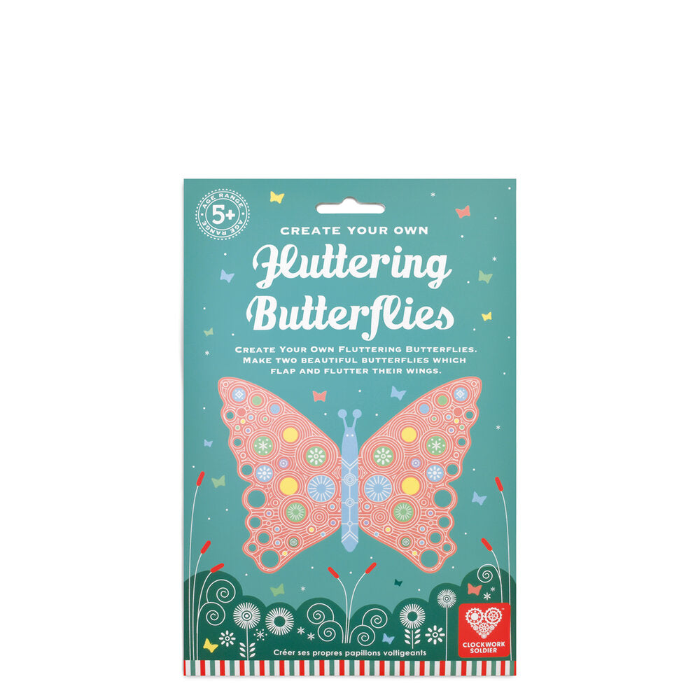 CREATE YOUR OWN FLUTTERING BUTTERFLIES - Clockwork Soldier
