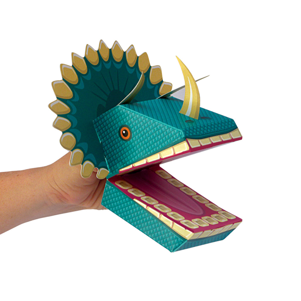 CREATE YOUR OWN DINOSAUR PUPPETS - Clockwork Soldier