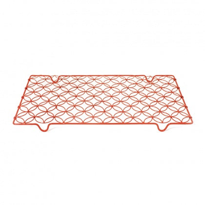 Nadiya Hussain-Wire Cooling Rack - Orange