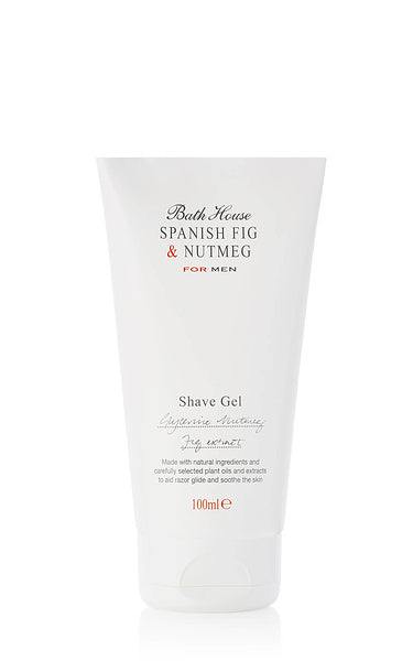 Spanish Fig & Nutmeg Shave Gel