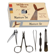 Load image into Gallery viewer, Modern Man Manicure Set