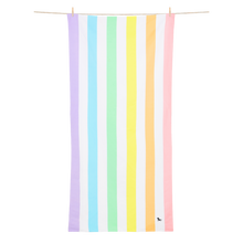 Load image into Gallery viewer, Dock & Bay SUMMER - UNICORN WAVES Beach Towel