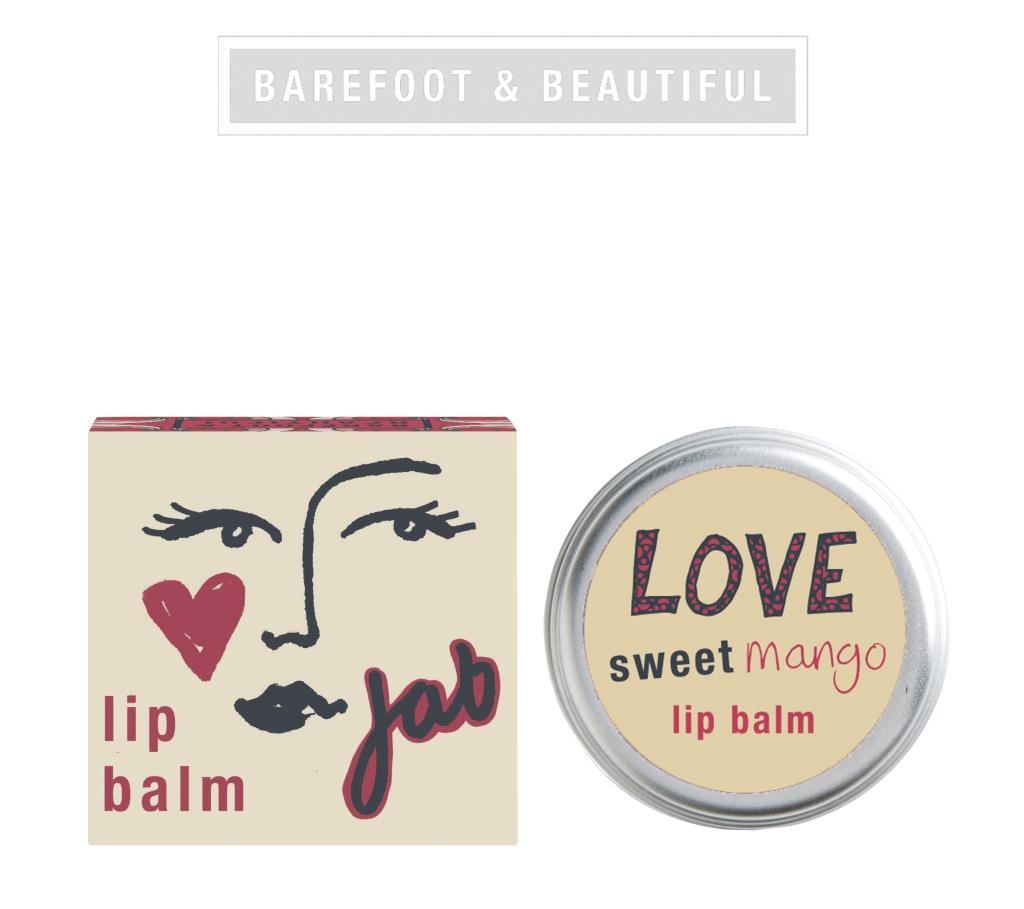 BAREFOOT BEAUTY / LIP BALM Sweet Mango