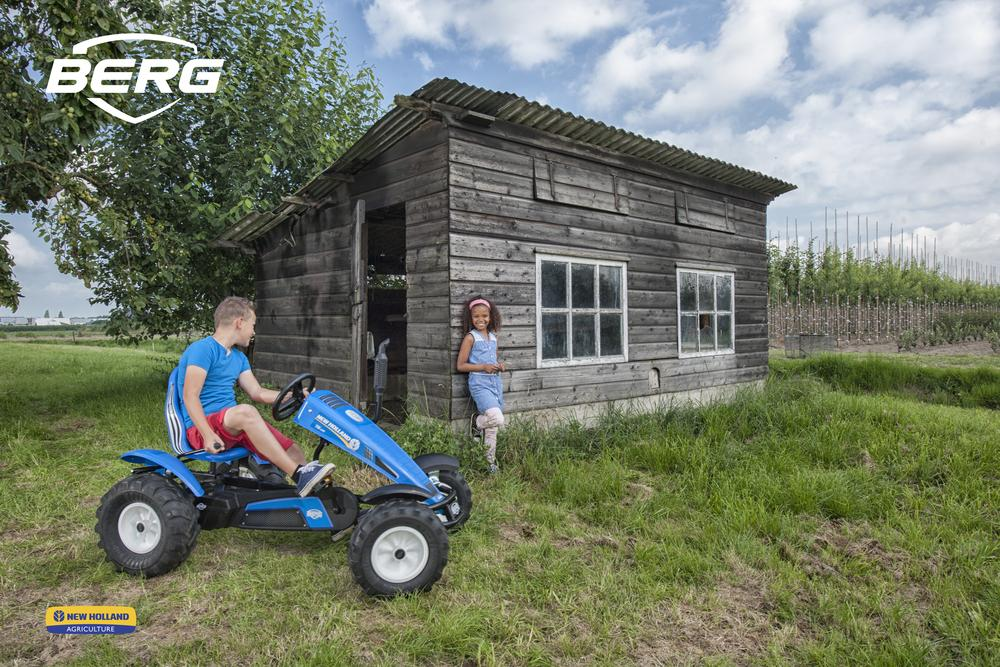 Berg New Holland BFR-3 Go Kart | Ride On Tractors (with gears)