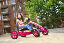Load image into Gallery viewer, Berg Rally Pearl - Girls Pedal Go Kart
