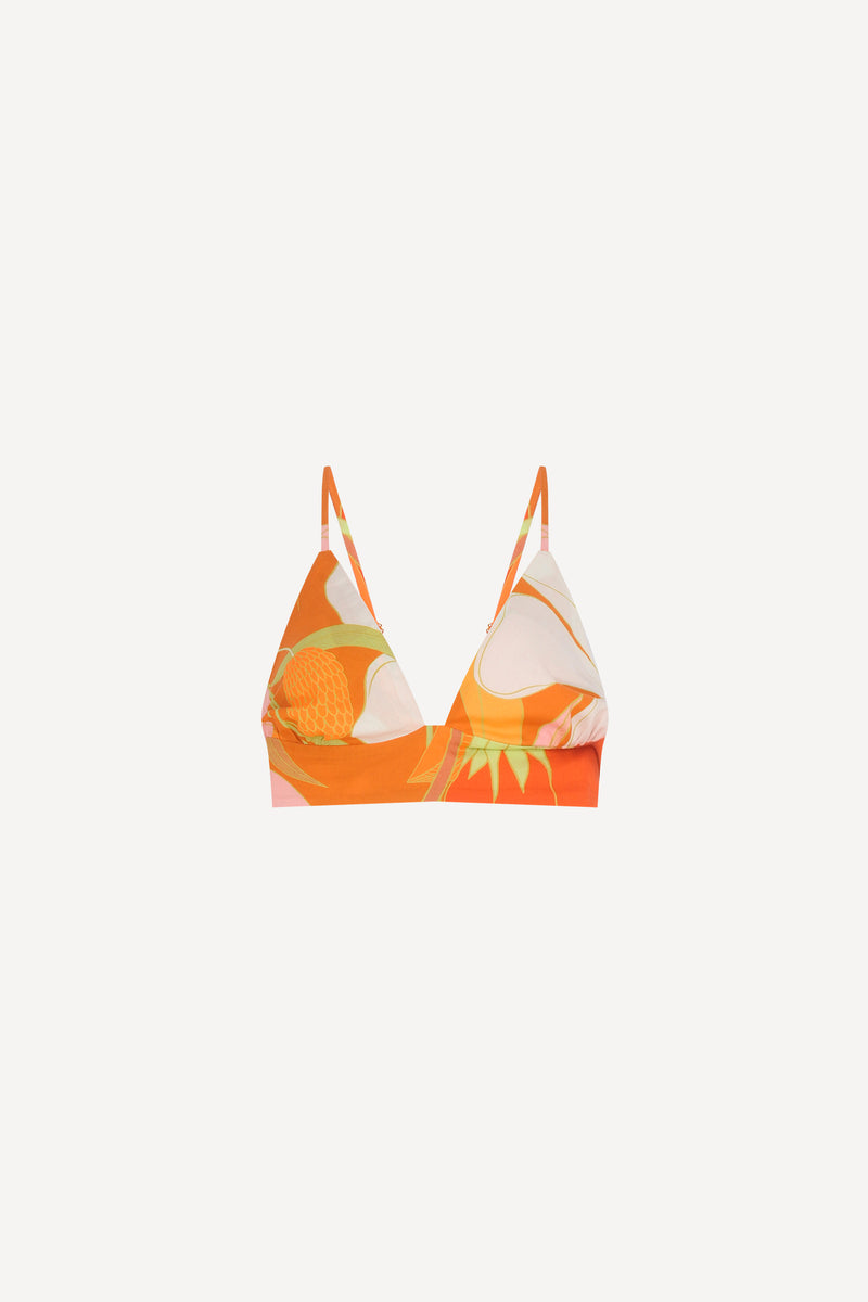 TOP DECOTE V NEW FLORA LARANJA (6018098397349)