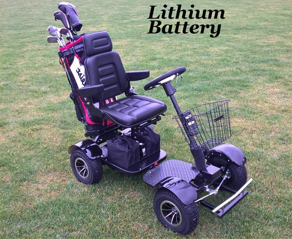 GF02 Electric Golf Cart with Lithium Batteries