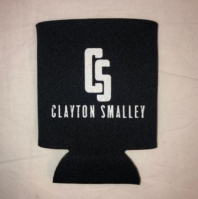 Clayton Smalley logo Koozie
