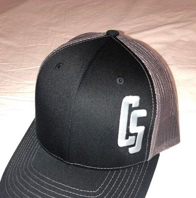 Embroidered Logo Trucker Ball Cap
