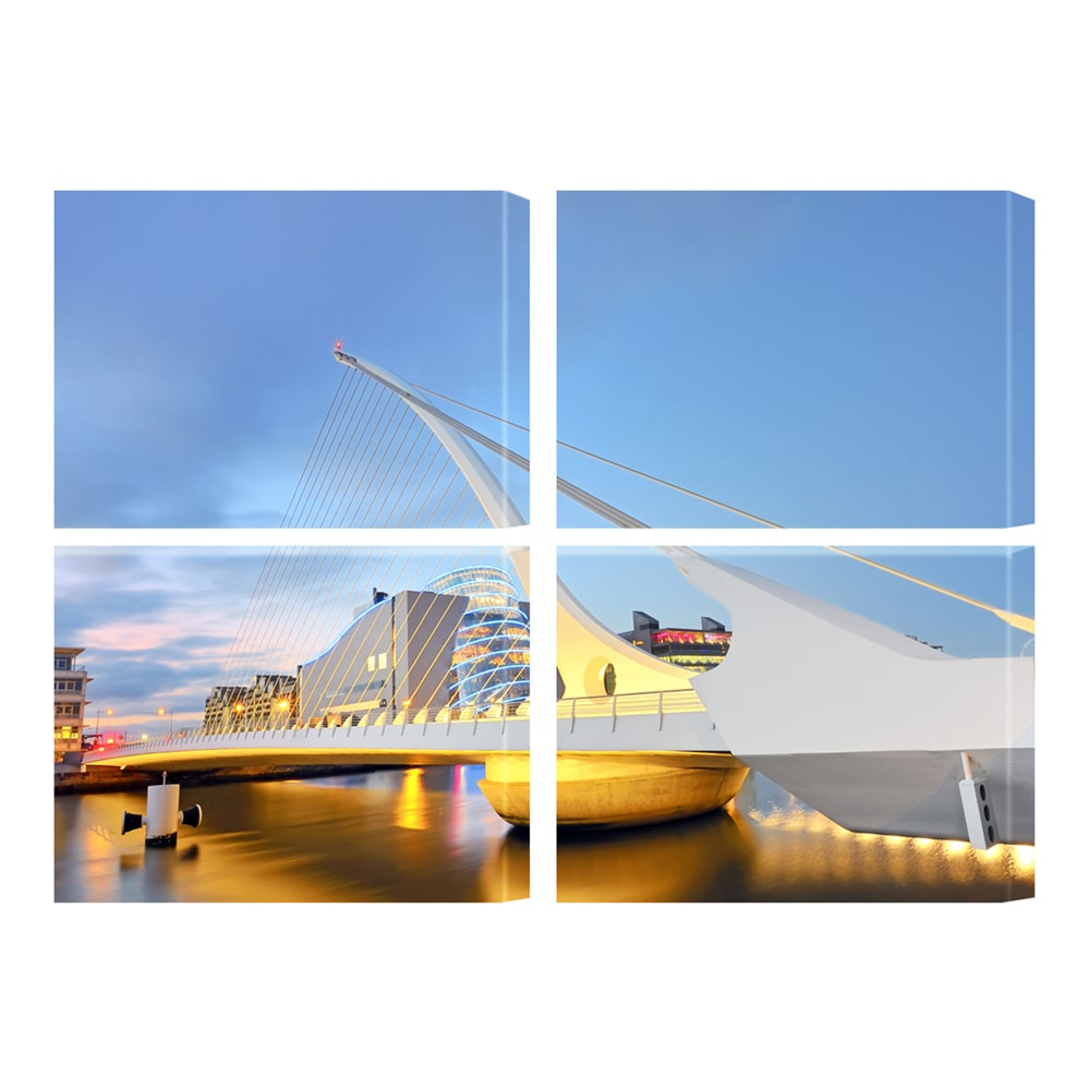Four Panels Canvas Prints - Germotte