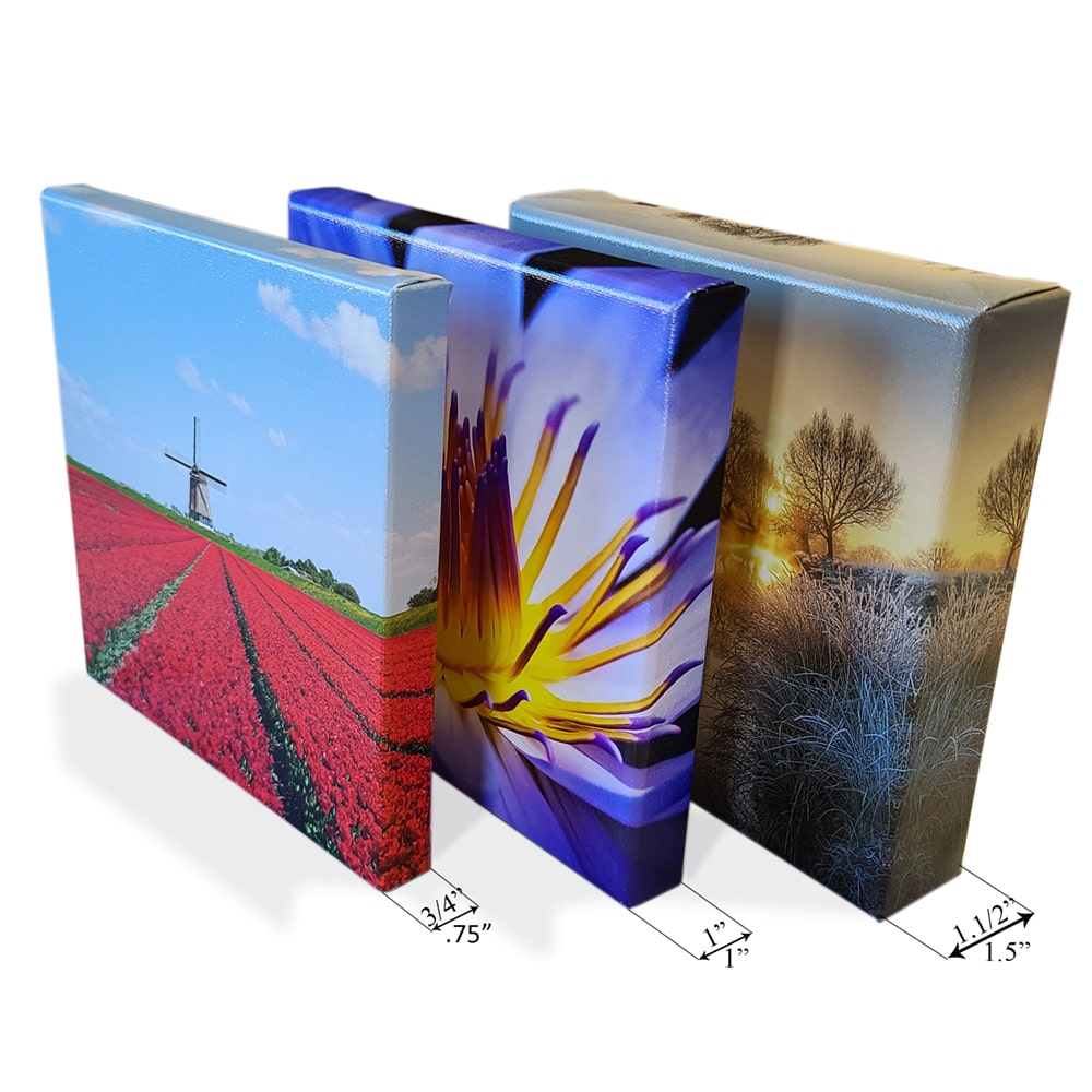 Canvas Prints & Stretching on 1.5 inch - 1 inch -0.75 inch Bars - Germotte