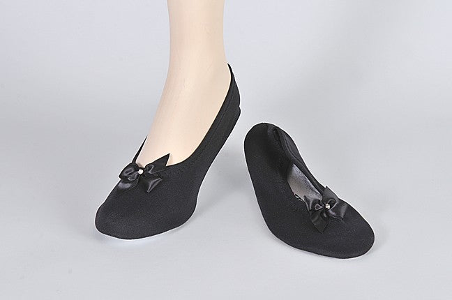 All Dolled Up slipper - Adult black