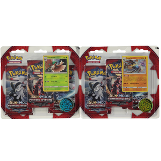 Crimson Invasion Triple Booster Pack