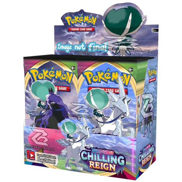 Pokémon Chilling Reign Booster Box