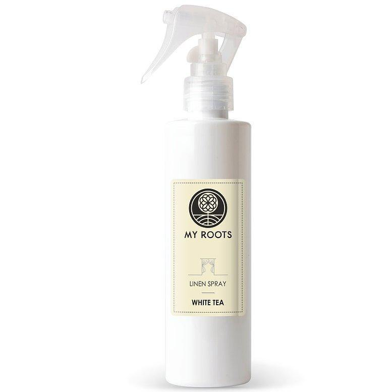 My Roots WHITE TEA Linnen Spray 200ml - DS Beauty www.ds-beauty.eu Natuurlijke producten voor uw lichaam