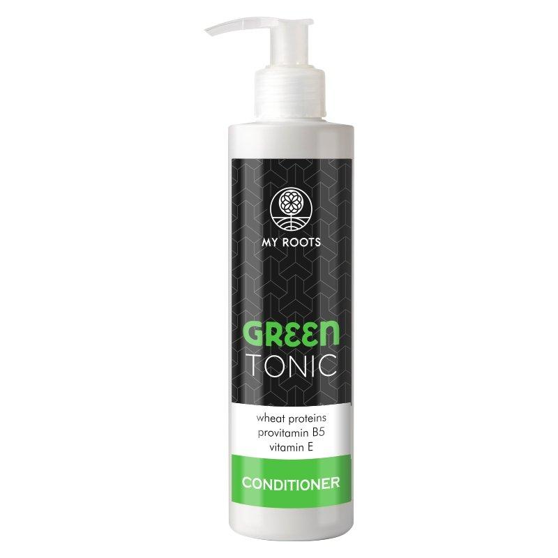 My Roots GREEN TONIC Conditioner Tarwe-eiwitten & Vitamine E 250ml.