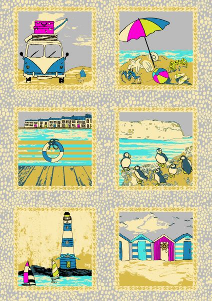 Inprint Seaside Panels Grey S20
