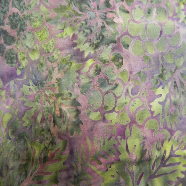 Island Batiks 05 Green/Purple