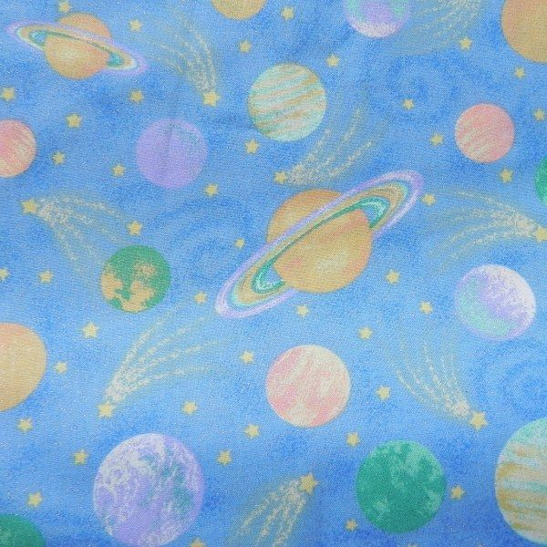 Fat Quarter Frenzy Other Pastel Planets