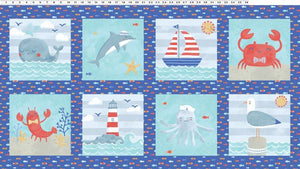 Clothworks Sail Away Panel