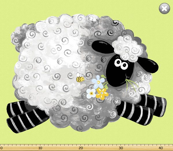 Lewe the Ewe Playmat