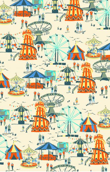 Inprint Seaside Funfair Q30