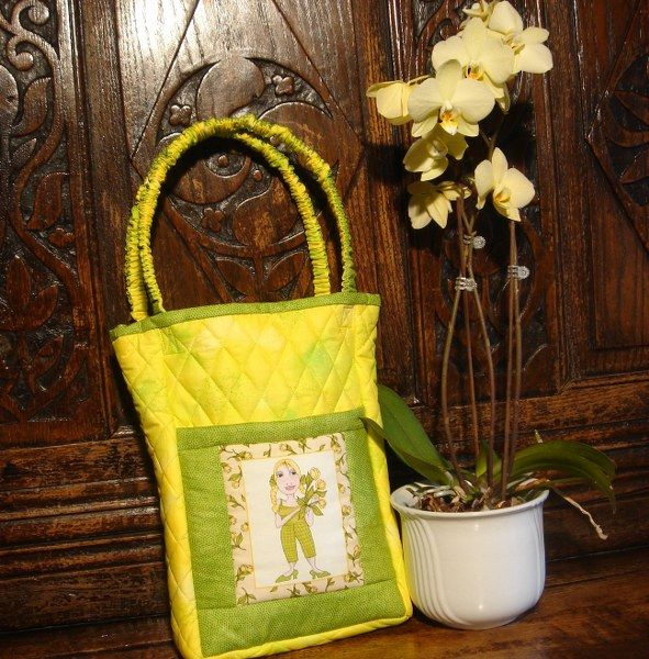 Garden Gallery (a) Yellow Tulips bag kit
