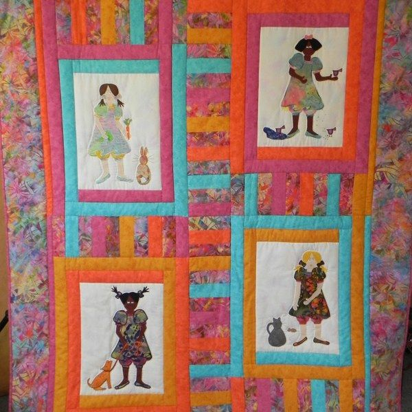 Quilt Pattern - Feathered and Furry Friends