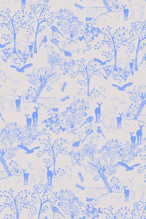 Wildlife Deer Lilac B25