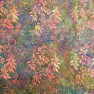 Island Batiks 10 Red/Blue/Green2