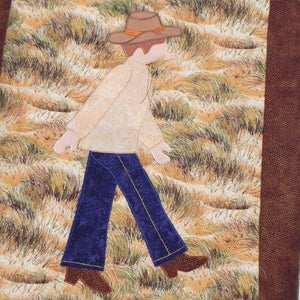 Jamie Plays Cowboys Quilt Kit9