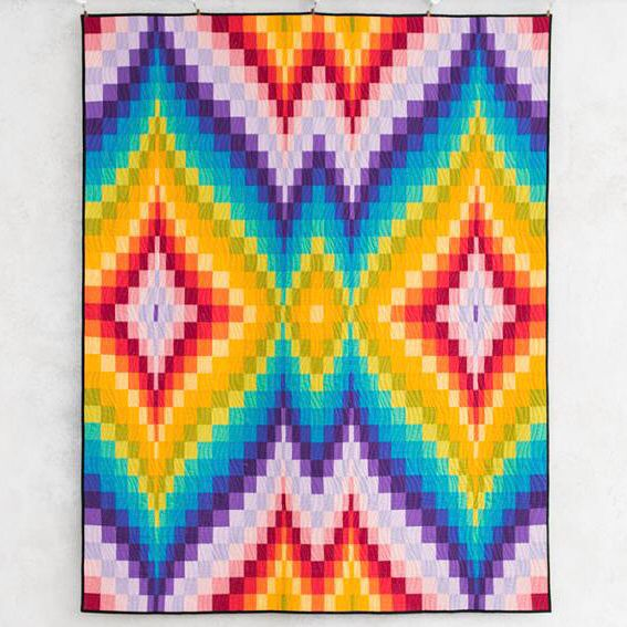 CR Bargello Beauty Quilt Kit
