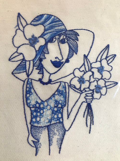 Loralie Designs Embroidery Bluework 2