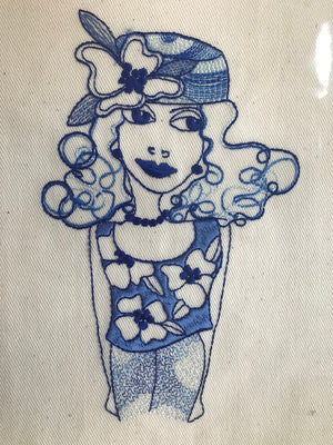 Loralie Designs Embroidery Bluework 3