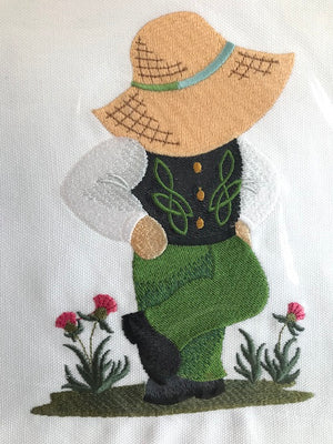 Embroidery Irish Dancer Boy