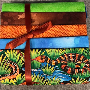 Precuts  Fat Quarters Snakes 2