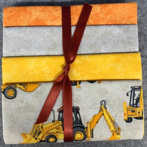 Precuts  Fat Quarters Diggers